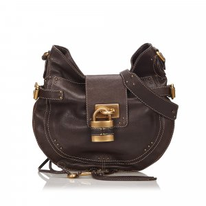 Chloe Leather Paddington Hobo Bag