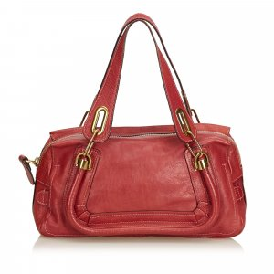 Chloe Leather Paraty Handbag