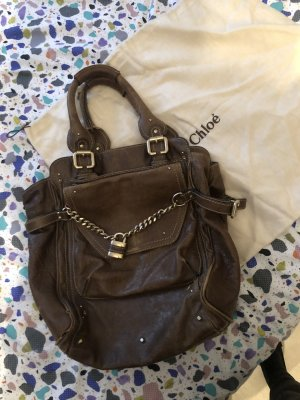 Chloé Handbag brown-cognac-coloured