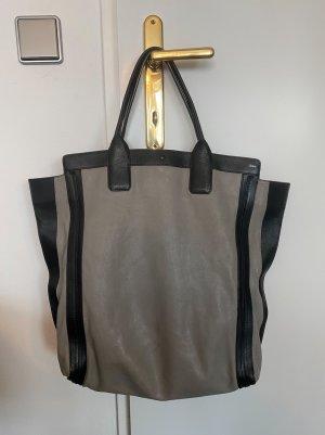 Chloé Comprador color plata-negro Cuero