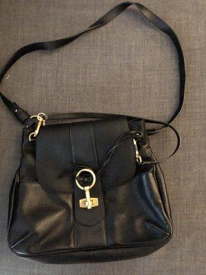 Chloe lexa Handtasche Leder schwarz