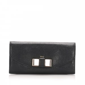 Chloe Lily Leather Long Wallet