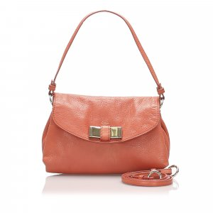 Chloe Lily Leather Satchel