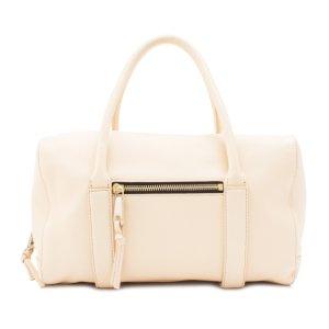 Chloe Madeleine Leather Boston Bag