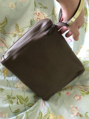 Chloé Pochette gris brun-gris cuir