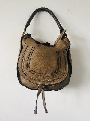"Chloé Marcie Bag in der Farbe ""Chestnut"""