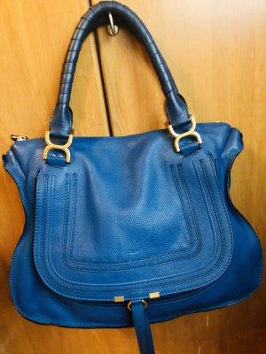 Chloe Marcie Bag large factory blue