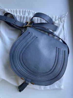 Chloé Sac bandoulière bleu fluo cuir