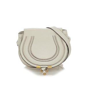 Chloé Crossbody bag white leather