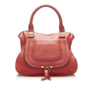 Chloe Marcie Leather Handbag
