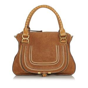 Chloé Satchel beige leather