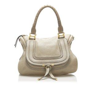 Chloe Marcie Leather Shoulder Bag