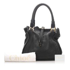 Chloe Marcie Leather Tote Bag