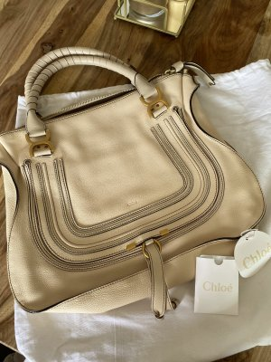 Chloé Handbag cream-beige leather