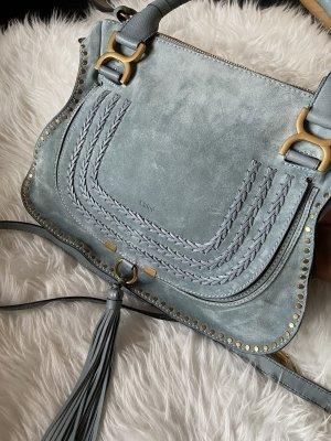 Chloé Marcie Tasche blaugrün