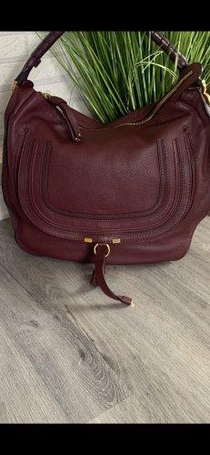 Chloé Hobos bordeaux leather