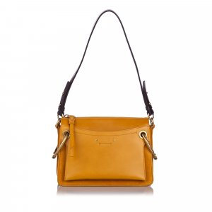Chloe Medium Leather Roy Satchel