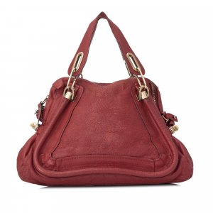 Chloe Medium Paraty Leather Satchel