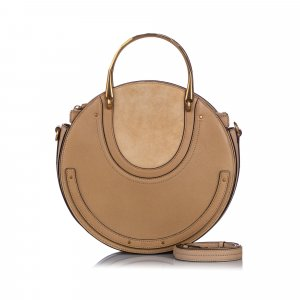 Chloe Medium Pixie Leather Satchel