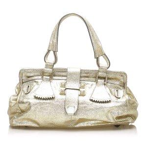 Chloe Metallic Leather Handbag