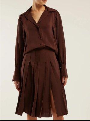 Chloé Robe de soirée brun soie