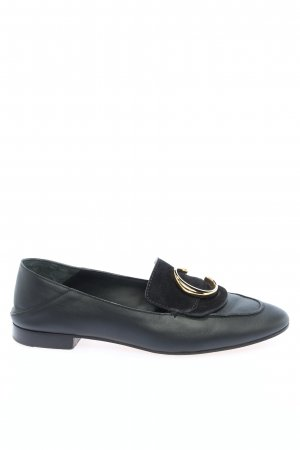 "Chloé Moccasins ""C Loafers Leather"" black"