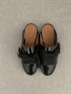 Chloé Klompen zwart