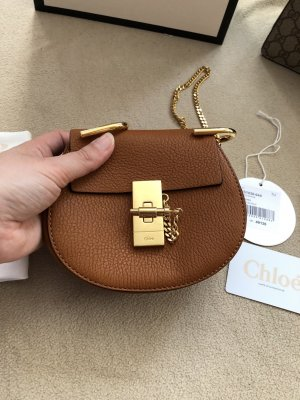 Chloé Mini Bag orange-camel