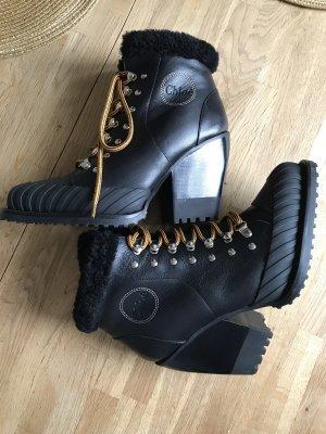 Chloé  neu 38 1/2 boots gefuttert Winter Stiefel