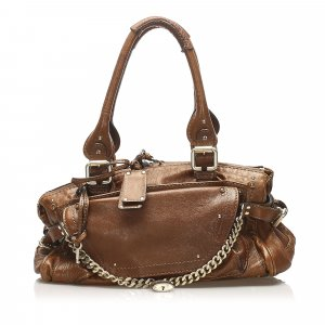 Chloe Paddington Capsule Leather Shoulder Bag
