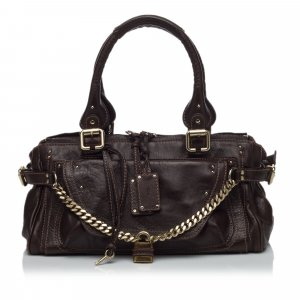Chloé Shoulder Bag brown leather