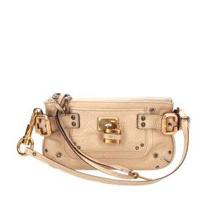 Chloe Paddington Leather Baguette