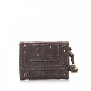 Chloe Paddington Leather Card Holder