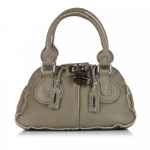 Chloé Handbag green leather
