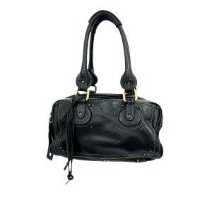 Chloé Sac porté épaule noir cuir