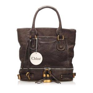 Chloe Paddington Leather Tote Bag
