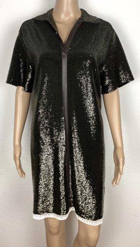Chloé Sukienka midi ciemnozielony