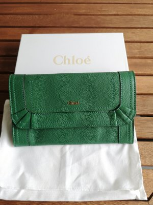Chloé Wallet forest green