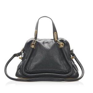 Chloé Satchel black leather