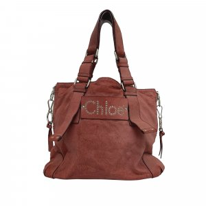 Chloe Patsy Leather Tote Bag