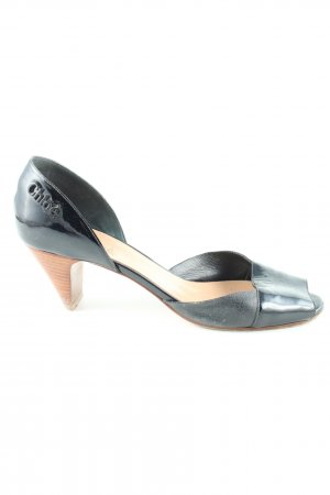 Chloé Peeptoe Pumps schwarz Casual-Look