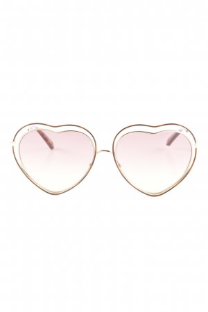 "Chloé Aviator Glasses ""Poppy Heart-Shaped"""
