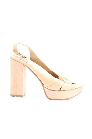 Chloé Riemchen-Sandaletten wollweiß Casual-Look