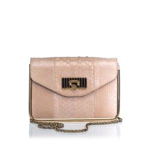 Chloe Python Leather Sally Crossbody Bag