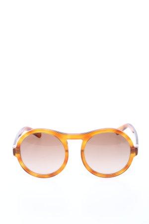 Chloé Occhiale stile retro arancione chiaro stile casual