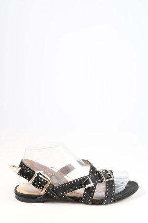 Chloé Sandały z rzemykami czarny W stylu casual