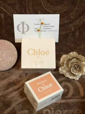 Chloé Hand Fan natural white