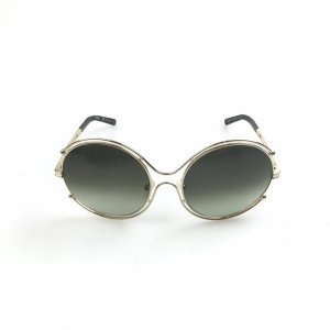 Chloe Round Metal Sunglasses