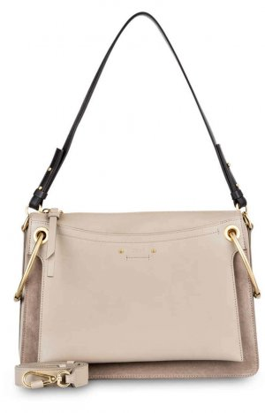 Chloé Shoulder Bag black-light grey