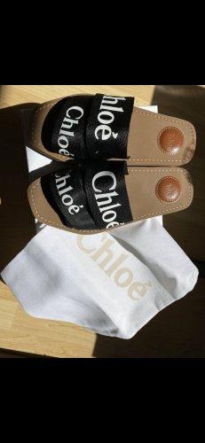 Chloé Sandales confort noir